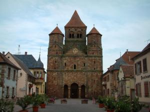Marmoutier - Abbey church