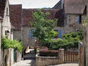 Martel - Houses of the city, in the Quercy