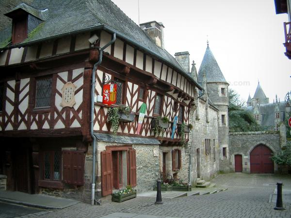 Medieval towns with character - Tourism, holidays & weekends guide in the Morbihan