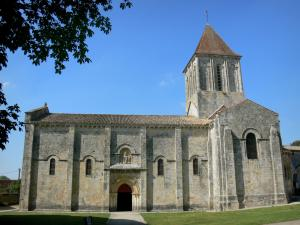 Melle Romanesque Churches 11 Quality High Definition Images