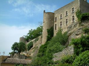 Ménerbes - Citadel and plants