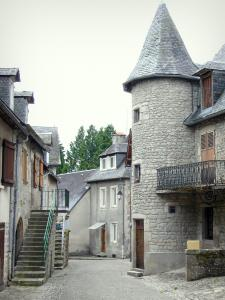 Meymac - Houses in the old town