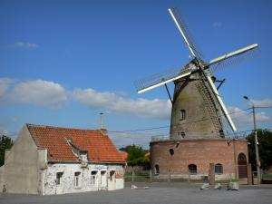 Mills of Flanders - Blanc mill (windmill) in Saint-Amand-les-Eaux