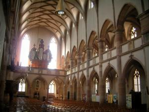 Molsheim - Interior of the Jesuits church