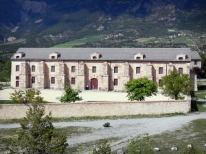 Mont-Dauphin - Citadel (fortified town built by Vauban): arsenal