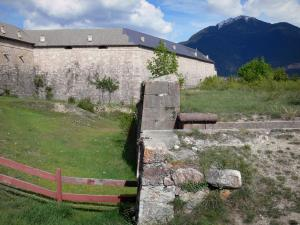 Mont-Dauphin - Fortifications of the citadel (fortified town built by Vauban) and mountain