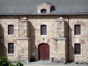 Mont-Dauphin - Citadel (fortified town built by Vauban): facade of the arsenal