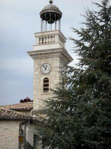 Montaigu-de-Quercy - Village clock