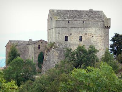 Montaigut castle