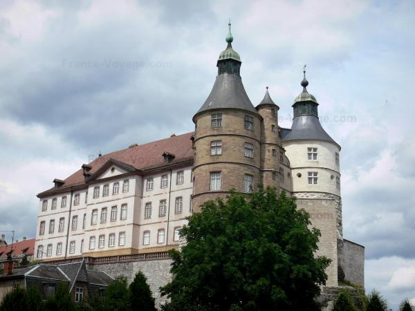 Montbéliard - Castle of the Dukes of Wurtemberg home to a museum