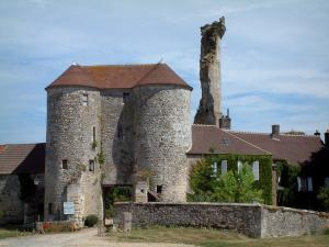Montépilloy castle - Remains of the castle