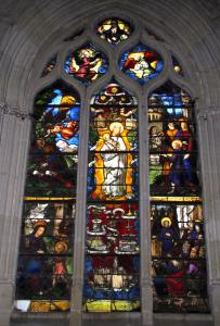 Montfort-l'Amaury - Windows (stained glass windows) of the Saint-Pierre church