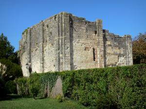 Montignac-Charente - Keep (remains of the ancient castle)