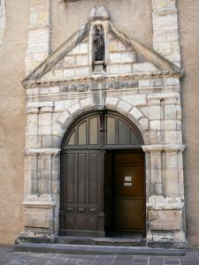 Montluçon - Portal of the Saint-Pierre church