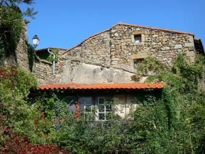 Montpeyroux - Stone house surrounded by vegetation