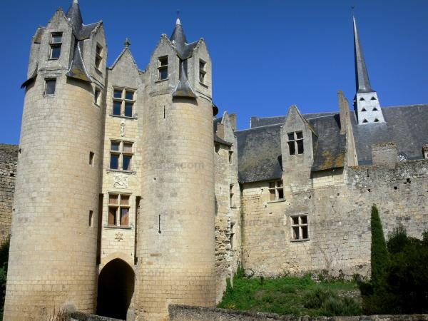The Montreuil-Bellay castle - Tourism, holidays & weekends guide in the Maine-et-Loire