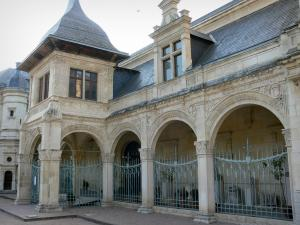 Moulins - Anne de Beaujeu pavilion (Ducal palace home to the Museum Anne de Beaujeu)