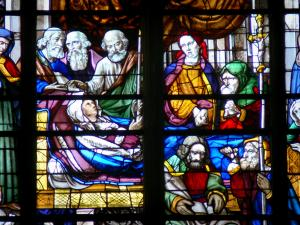 Moulins - All'interno della cattedrale di Notre Dame: Stained Glass