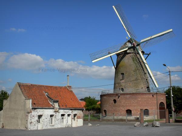 tourisme moulins flandre