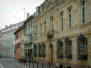 Mulhouse - Houses of the old town