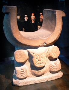 Museo del muelle Branly - Americas Collection: asiento ceremonial