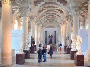 Museum Louvre - 42 Qualitätsbilder in hoher Auflösung