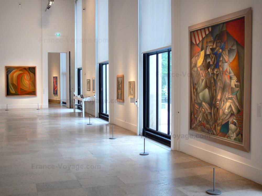 Bilder museum f r moderne kunst der stadt paris f hrer for Kunst der moderne