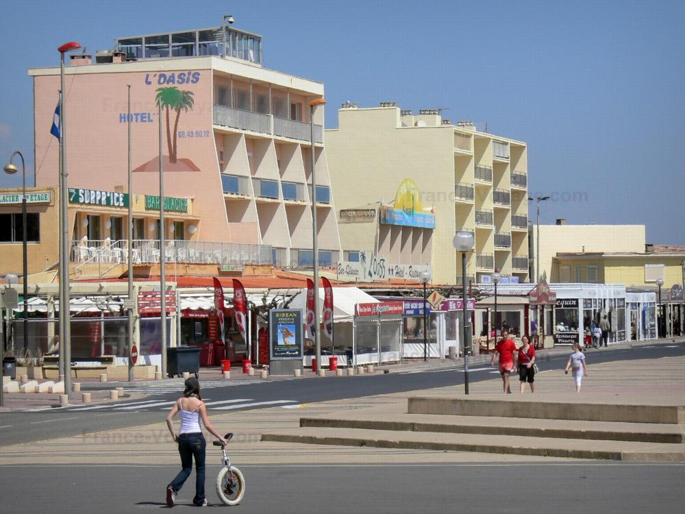 Photos narbonne plage guide tourisme vacances - Hotel narbonne plage avec piscine ...