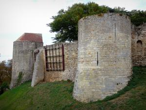 Nogent-le-Rotrou - Towers of the surrounding wall of the Saint-Jean castle