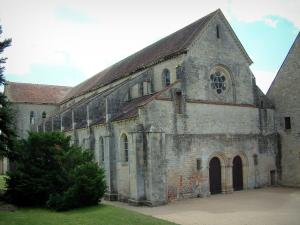 Noirlac abbey - Church of the Cistercian abbey