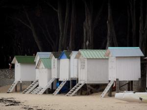 Noirmoutier island - Cubicles of the Dames beach