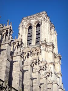 Notre-Dame de Paris cathedral - Cathedral tower
