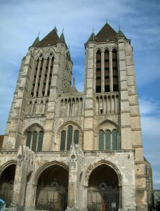 Noyon - Notre-Dame cathedral of Gothic style