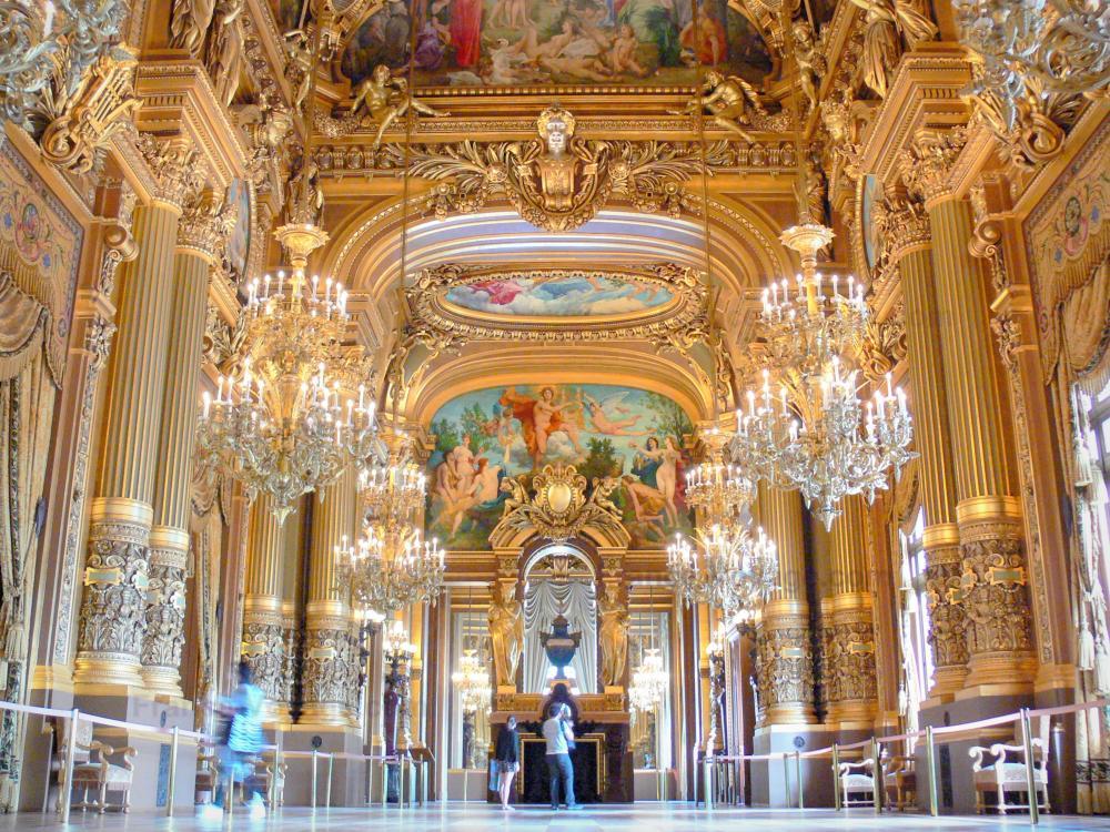 Superficie Grand Foyer Opera Garnier : Photos l opéra garnier guide tourisme vacances