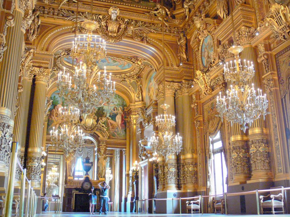 Grand Foyer Palais De La Bourse : Photos l opéra garnier guide tourisme vacances