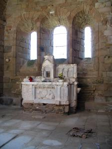 Oradour-sur-Glane - Inside of the church