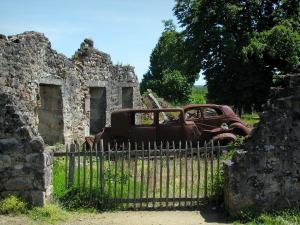 Oradour-sur-Glane - Ruins of the martyr village