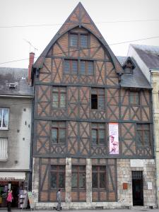 Orléans - Joan of Arc's house (half-timbered facade)