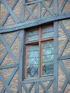 Orléans - Window of Joan of Arc's house