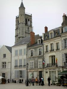 Orléans - Bell tower and houses of the old town