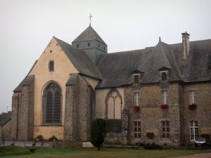 Paimpont - Abbey church (Notre-Dame abbey)