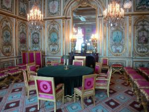 Palace of Fontainebleau - Interior of  the Palace of Fontainebleau: State Apartments: Council Chamber