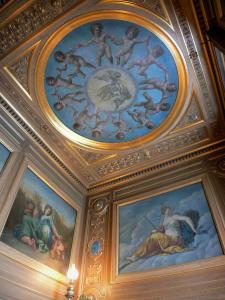 Palace of Fontainebleau - Interior of  the Palace of Fontainebleau: paintings of the Plates Gallery