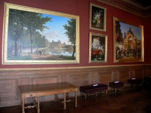 Palace of Fontainebleau - Interior of  the Palace of Fontainebleau: paintings in the Fastes Gallery