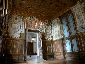 Palace of Fontainebleau - Interior of  the Palace of Fontainebleau: Flats: François I Gallery