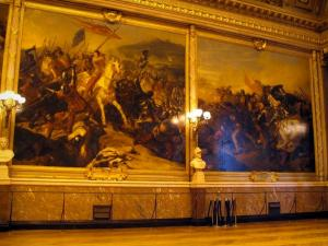Palace of Versailles - Inside of the castle: pictures of the Battles gallery (Batailles gallery)