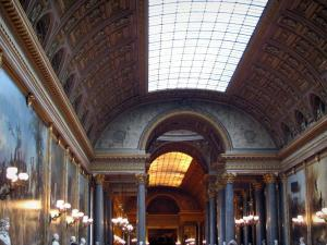 Palace of Versailles - Inside of the castle: Battles gallery (Batailles gallery)