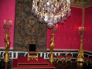 Palace of Versailles - Inside of the castle: Apollon's lounge or throne room