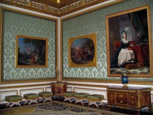 Palace of Versailles - Inside of the castle: Queen's Nobles lounge
