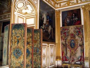 Palace of Versailles - Inside of the castle: Oeil-de-Boeuf lounge (second King's anteroom)